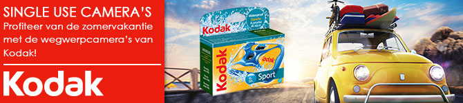 Kodak Fun Flash Water Sport Single Use Disposable wegwerpcamera