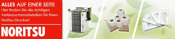 Hier finden Sie die richtigen Verbrauchsmaterialien für Ihren Drucker!