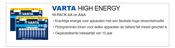 VARTA High Energy AA / AAA